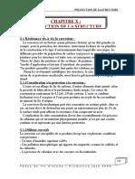 Chap10protection de La Structure