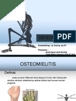 119916962 Ppt Osteomielitis