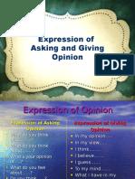 Asking Giving