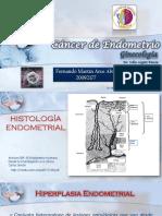 Cancer de Endometrio Fernando Arce