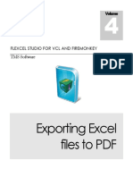 Using Fl Excel PDF Export