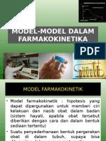 3. Model-model Dalam Farmakokinetika