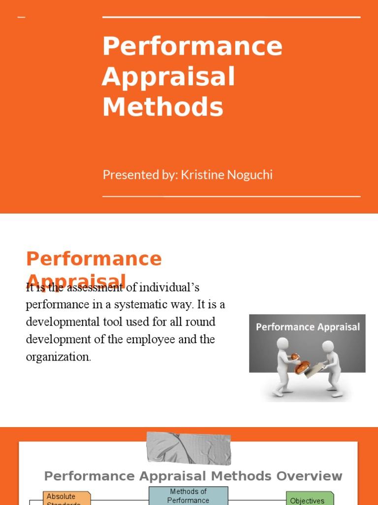 absolute appraisal