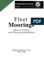 26.5 Fleet Mooring