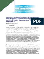 Historia General de Las RR EE de La Republica Argentina