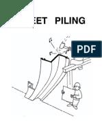 Sheet Piling design
