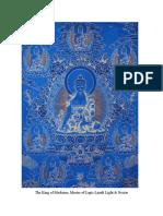Medicine Buddha Medium Length Sadhana