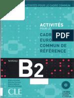 Activités Pour Le CRCR B2