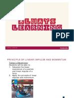 1 Principle of Linear Impulse and Momentum [Compatibility Mode]