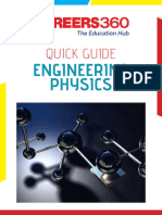 Careers360 Quick Guide to Engineering Physics
