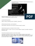 Características y Señales Del Despertar de La Conciencia y Que Aún Estamos Bajo La Apariencia de La Matrix Holográfica y El Ego