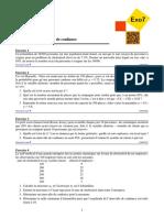 Exercices Estimation Et Intervalle de Confiance (2)