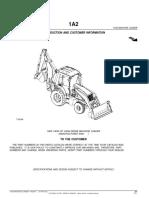 Manual de Partes de La Retroexcavadora John Deere 710 G