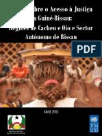 2011 Estudo s Acesso Just Na Guine Bissau PUND 200p