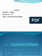 Fundamental Rights- Rahul Chauhan