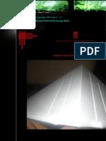 "Pyramide Orgone Pyramid Chi Accumulator EMF HUGE 9"" X 9"""