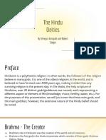 hinduism - deities