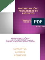Planificación Estratégica 2 Octubre