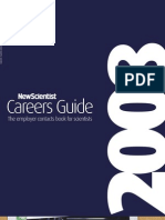 New Scientist Careers Guide 2008