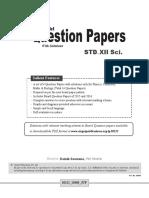 Target Publoication Std 12 Model Question Papers