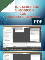 Comunicacion Hmi Movicon Con Plc Siemens