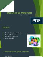 Mecánica de Materiales - UNIDAD I