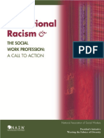 Institutional Racism & the Social Work Profession