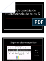 Espectrometria fluorescencia raios X