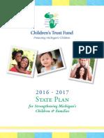 Michigan Children's Defense Fund Strategic Plan 2017