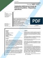 ABNT NBR 13570 1996 Instalacoes Eletricas em Locais de Afluencia de Publico.pdf