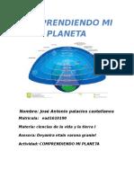 Actividad 1 Ciencias de La Vida y La Tierra - La Tierra y Su Composicion