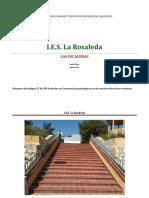 Escalera situada en la parte trasera del edificio Naves-Taller que va hacia el Edificio de Hostelería