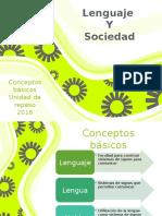 Conceptos básicos de lingüística