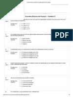 1.4 Simulado Conceitos Básicos de Finanças
