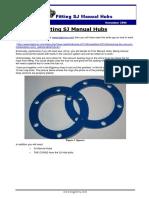 Fitting SJ Manual Hubs