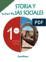 PRIMERO MEDIO HISTORIA Y CIENCIAS SOCIALES
