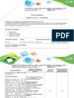 Guía de Actividades y Rúbrica de Evaluación - Fase III - Correlacional