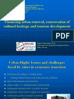 Financing Urban Renewal, Conservation Heritage