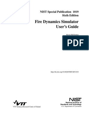 FDS User Guide | National Institute Of Standards And