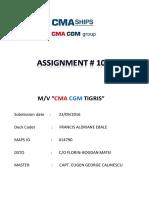 DC EBALE_Assignment No. 10