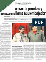 COLOMBIA recurrirá a las instancias internacionales como La Haya.