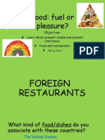Food and Restaurants