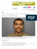 Jury to be chosen June 1 for suspect in Anthony Nazaire case | The Ithacan