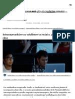 Intraemprendedores y Catalizadores Sociales, Próximas Figuras Clave - Forbes Mexico