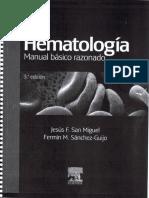 Hematologia - Manual Basico Razonado