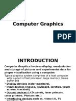 Computer Graphics Unit I