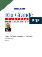 Jose Antonio Lopez - The Tejano Monument - 5 Years Later.pdf
