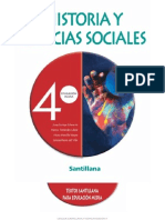 CUARTO MEDIO HISTORIA Y CIENCIAS SOCIALES