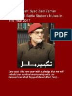 Alhamdolillah 2017 Khutbaat Of Syed Zaid Zaman Hamid From FB Battle Station!