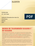Trabajo de Tecnologia   Medios de Transmision   Santiago Calderón